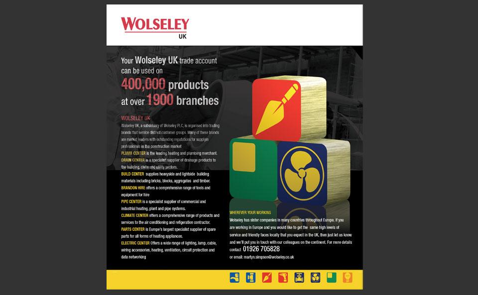 Wolseley UK Trade Account