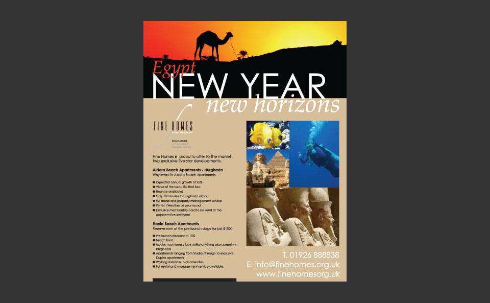 Egypt: New Year – New Horizons