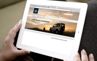 Landrover Uniform Website