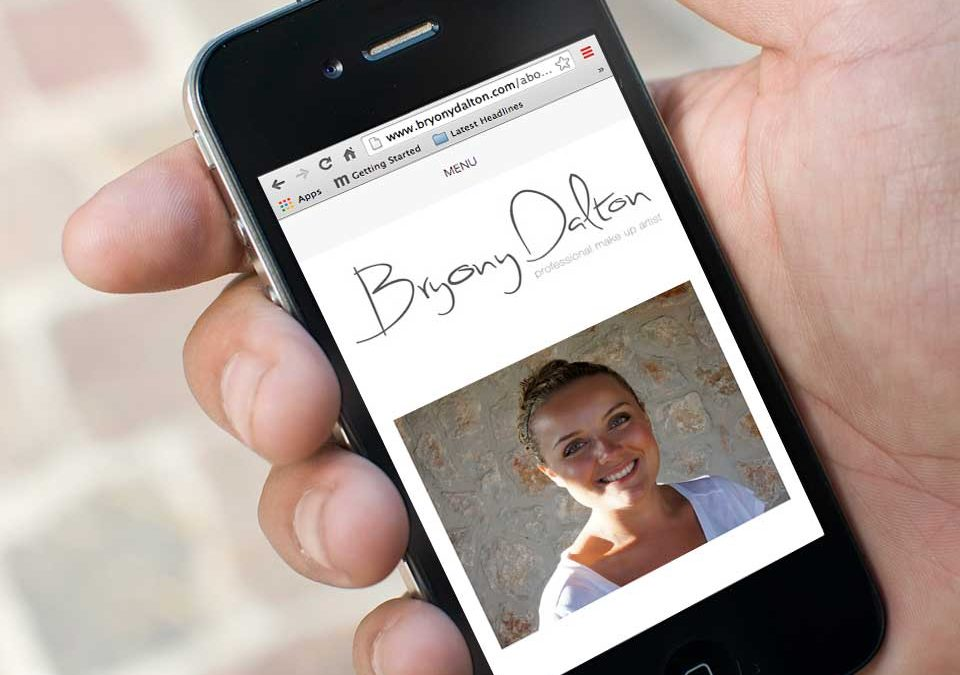 Bryony Dalton make up artist website