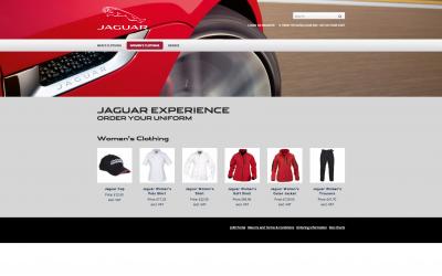 Jaguar Website
